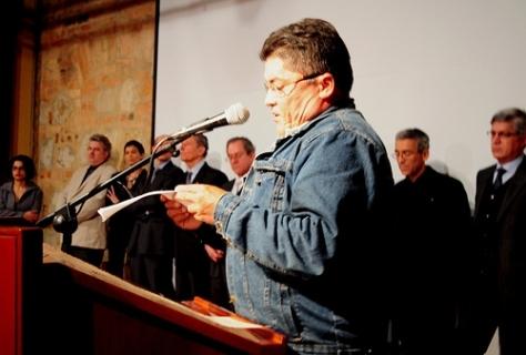 Miguel Huepa Discurso Premio Nacional de Paz ACVC