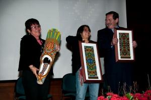 Jackeline Rojas, Judith Maldonado, and the Jose Alvear Restrepo Lawyer's Collective were named the winners.