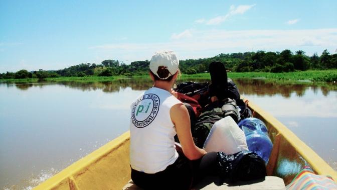 Viajamos a la vereda La Poza que forma parte de la Zona de Reserva Campesina del Valle del Río Cimitarra.