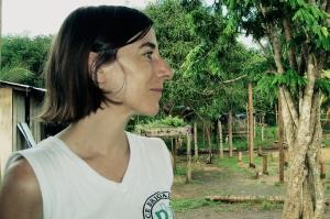Begoña Navarro en Nueva Esperanza en Dios, Cacarica