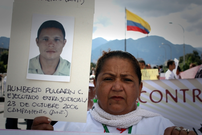 Cases of extrajudicial executions taken on by CCAJAR