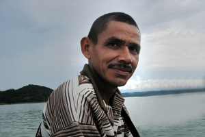 Jesús Emilio Tuberquia es representante legal y líder de la Comunidad de Paz de San José de Apartadó.