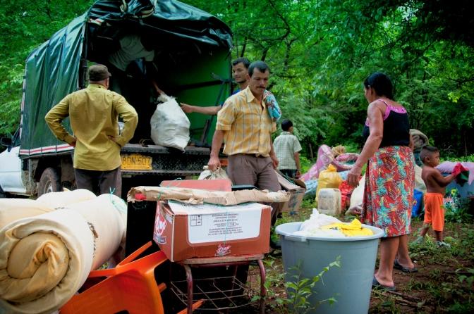 Delicada situación de seguridad para las familias campesinas recién retornadas