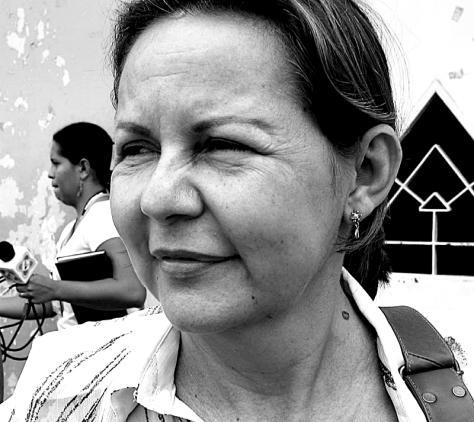 Yolanda Becerra, directora de la Organización Femenina Popular (OFP)