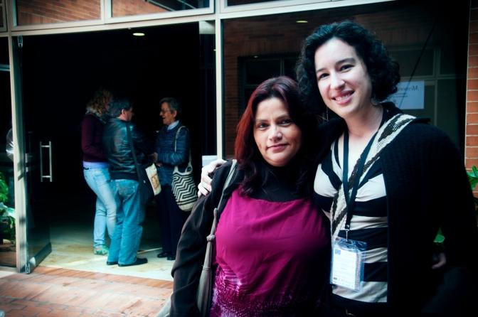 Claudia Julieta Duque (izquierda) y Dana Brown (derecha).
