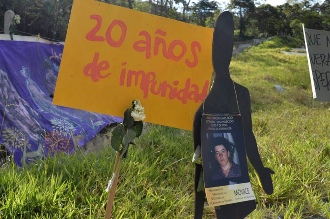 Enforced disappearances in La Esperanza
